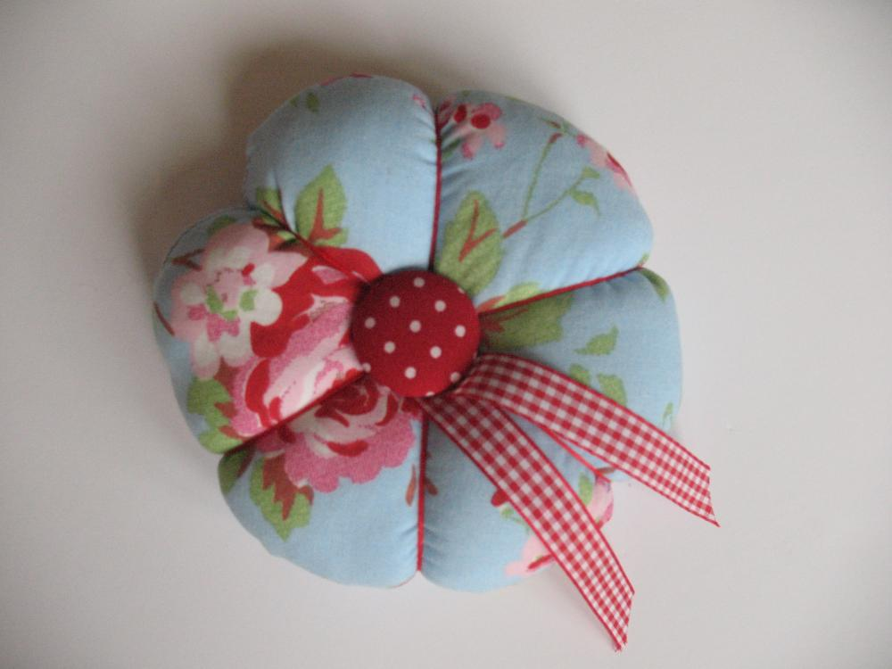 Lovely Flowery Pincushion